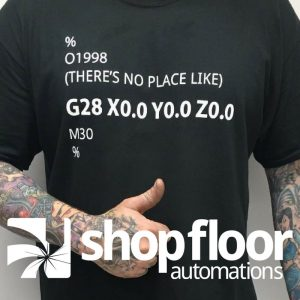 gcode machinist shirt