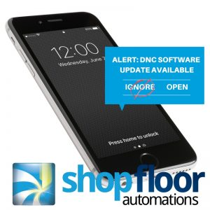 shop floor software updates