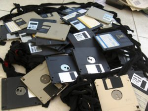 shop floor floppy disk