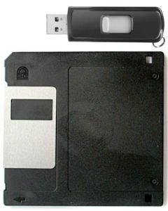replace floppy with usb
