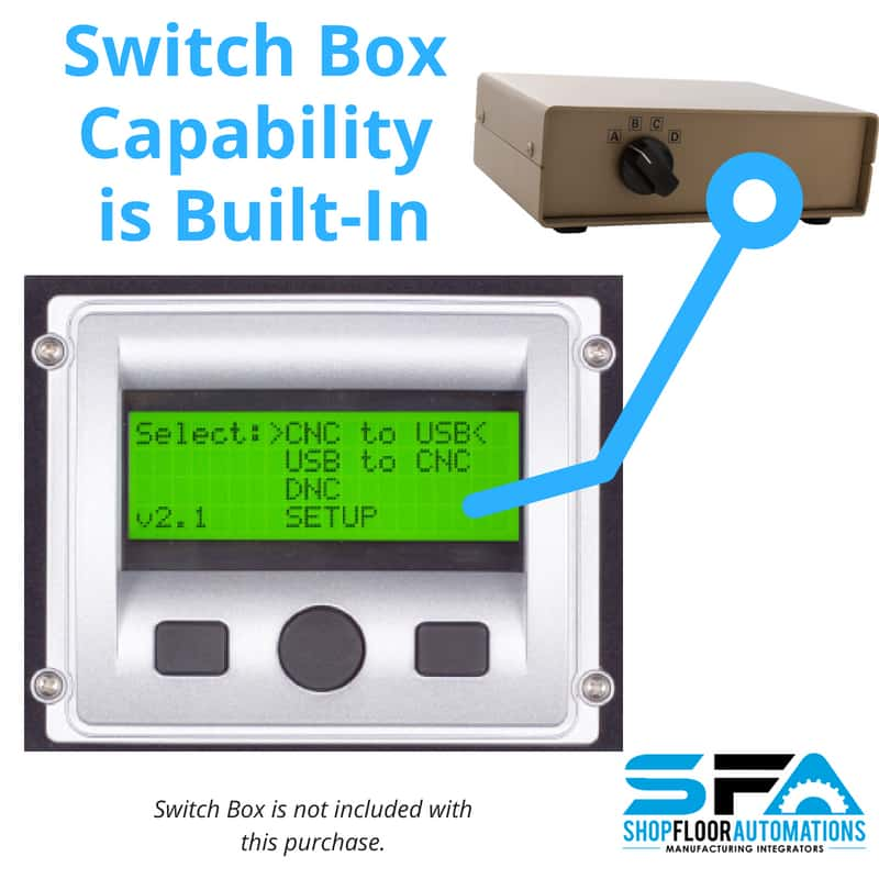 Switchbox USB CNC Hardware from Shop Floor Automations