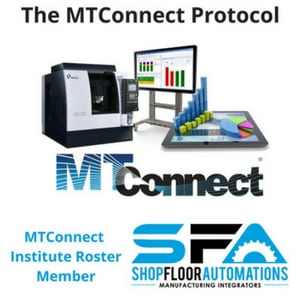 MTConnect Compatability - Shop Floor Automations