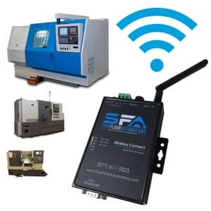 Wireless cnc machine