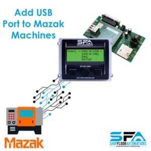 USB to Mazak